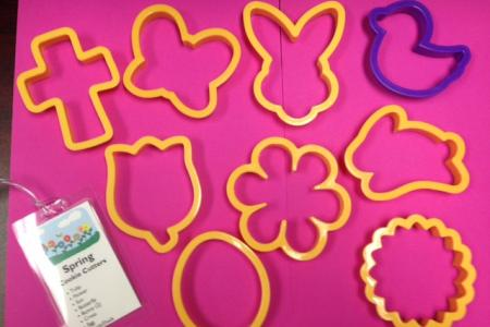 Spring Cookie Cutters